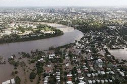The 2011 Brisbane flood.