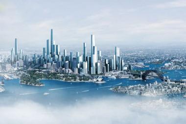 Bates Smart's vision of Sydney in 2050