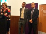 Jane Prentice, MP for Ryan; Andrew Giles, MP for Scullen; and Adam Bandt, member for Melbourne.