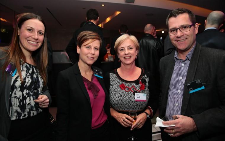 (Left to right) Kate Miles, Jennifer McAllister, Kerry Ross, David Collett