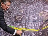 Denis Napthine with the East West Link plans