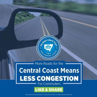 New South Wales Premier Mike Baird's successful re-election campaign promised motorists more roads and less traffic.