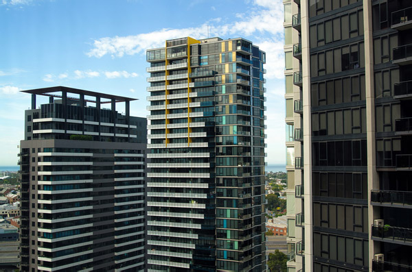 Melbourne apartment towers