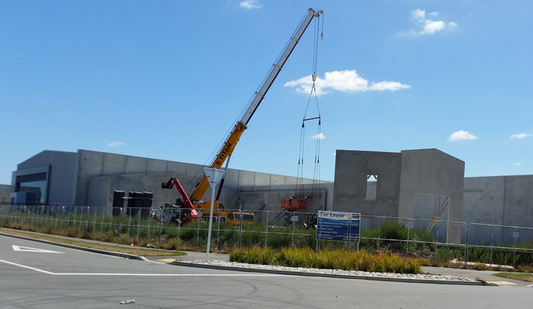 A common sight on the Christchurch landscape.