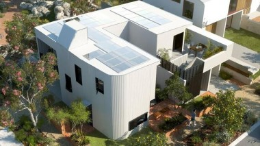 Artist's impression of a Gen Y House