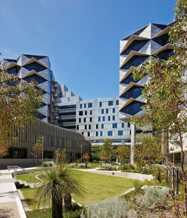 The Fiona Stanley Hospital. Image: Peter Bennetts