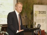 Arron Wood at the launch of How to Grow and Urban Forest