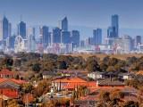 Melbourne-Skylline
