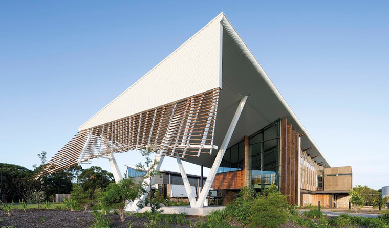 The Sustainable Buildings Research Centre. Image: John Gollings