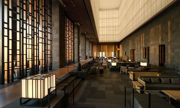 Kerry Hill Architects' Aman Tokyo.