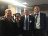 Left to right: Amy Hogan, Stockland; Davina Rooney, Stockland; Rowan Griffin, Lend Lease; Alex Sommer Stockland