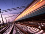 High-speed-Train-With-Motion-Blur