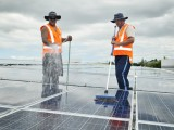 The Sylvia Park solar was installed partly to articulate a sustainability message.