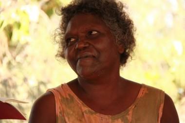 Ruth, an elder at Bukudal