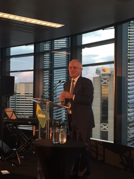Malcolm Turnbull launches the Green Cities conference  on Tuesday night in Sydney