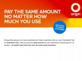 Origin's all-you-can-consume offer