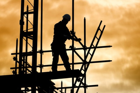 silhouette-of-construction-worker