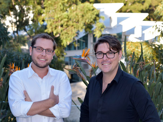 James Cronan (left) and Marlon Kobacker
