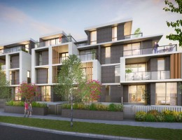 An affordable housing development being built to eight-start NatHERS standards by community housing provider SGCH.