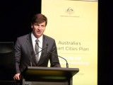 Assistant minister for cities Angus Taylor
