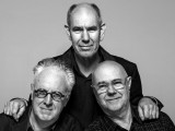 (L–R): Howard Raggatt, Stephen Ashton and Ian McDougall. Image: John Gollings