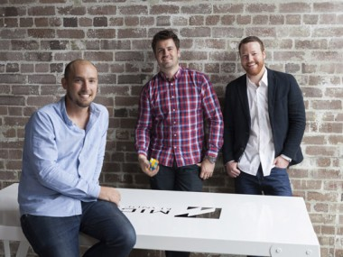 (L-R): Liam O'Brien, Edward McMillan and Ryan McClenagh of MM Creative