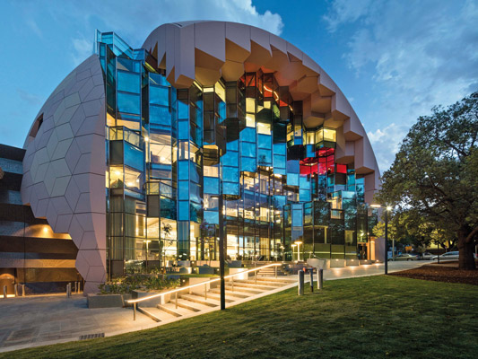 ARM Architecture's Geelong Library & Heritage Centre. Image: John Gollings.