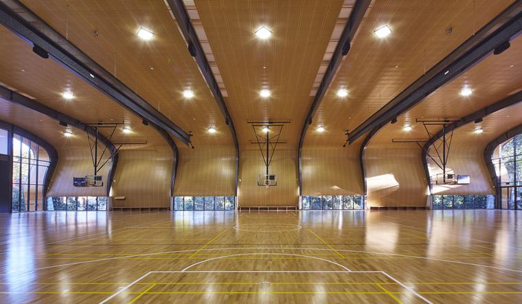 Abbotsleigh Multi-purpose Assembly and Sports Hall. Image: Tyrone Branigan