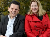 Nick Xenophon and Rebekha Sharkie