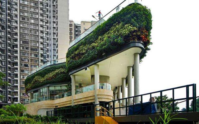Green Atrium Hong Kong sets a new pace in supermarkets