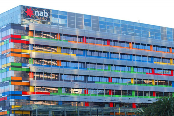 NAB's Docklands head office