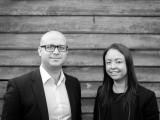 Radley Property's Michael Radovnikovic and Belinda Bentley.