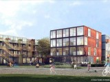 German developer Jörg Duske has built student accommodation out of recycled shipping containers.