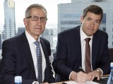 The CEFC's Kevin Holmes (left) with CEO Oliver Yates