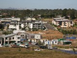 Housing development on the fringe of Sydney