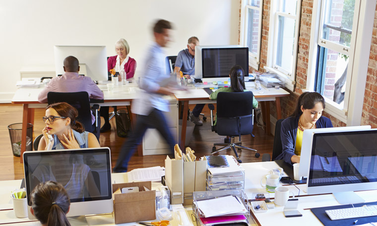 Get out of my face we re more antisocial in a shared for Shared office space design