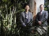 (L-R): Xiaoqi Feng and Thomas Astell-Burt. Image: Paul Jones