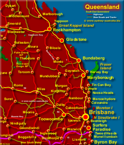Gold Coast Brisbane Se Qld Nsw: QLD Releases Draft 50-year Plan For A Sustainable SEQ