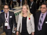 Fderal minister for environment and climate change Catherine McKenna at the Canadian Wind Energy Association conference
