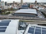 The solar array on ICC Sydney
