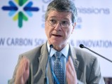 American economist Jeffrey Sachs provides a keynote to the Low-Emissions Solutions Conference on Sustainable Development Goals.