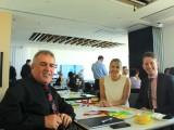 Left to Right – the Investa team: Michael Cook, Emma Fletcher, Ian Lieblich