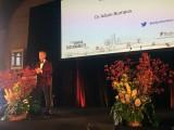 Dr Adam Bumpus opening the event