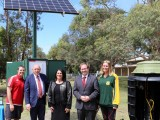 Launch of the smart solar sewer system
