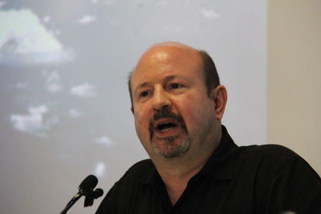 Michael Mann, speaking at University of Sydney workshop