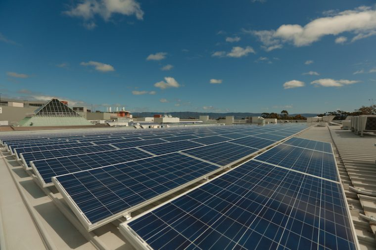 Stockland switches on massive solar system at Wetherill Park