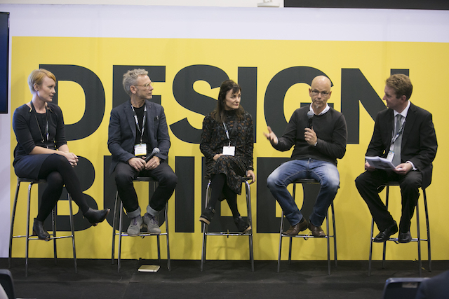 DesignBUILD Speaker Series 2016 panel discussion