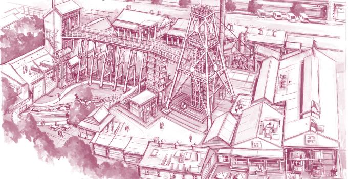 Central Deborah Gold Mine, Bendigo
