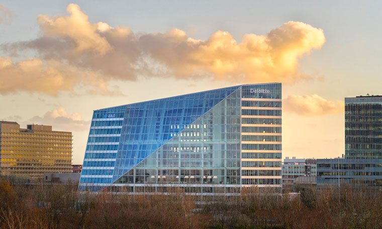 The Edge in Amsterdam is considered one of the world's smartest buildings.