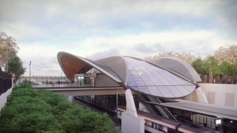 HASSEL-designed NW Metro Station